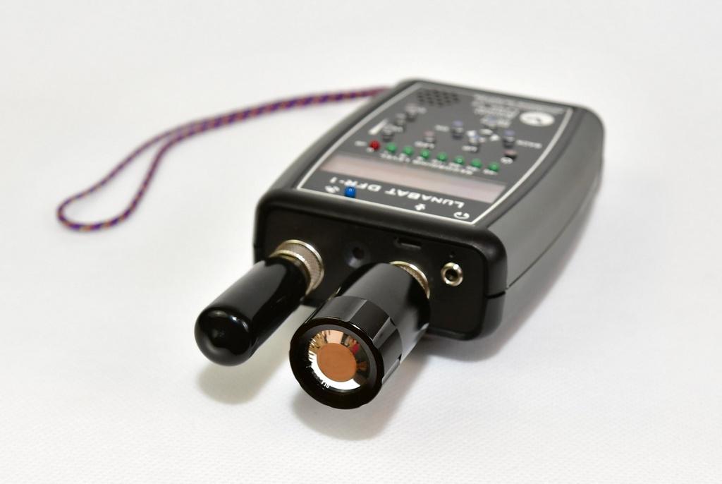 Detektor LunaBat DFR-1 z odbiornikiem GNSS GP-1 i nowym mikrofonem elektrostatycznym MC-1