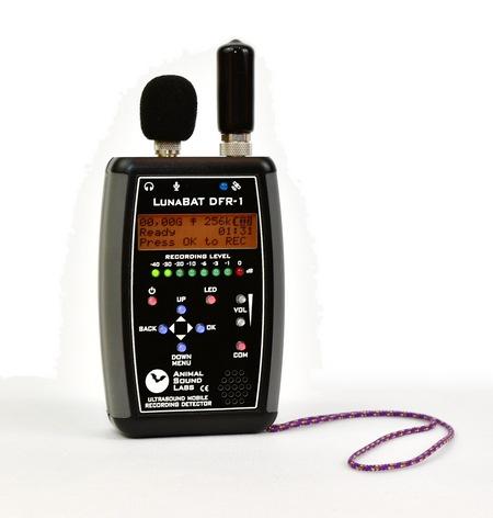 Detektor LunaBat DFR-1 z mobilnym odbiornikiem GPS/Glonass GP-1